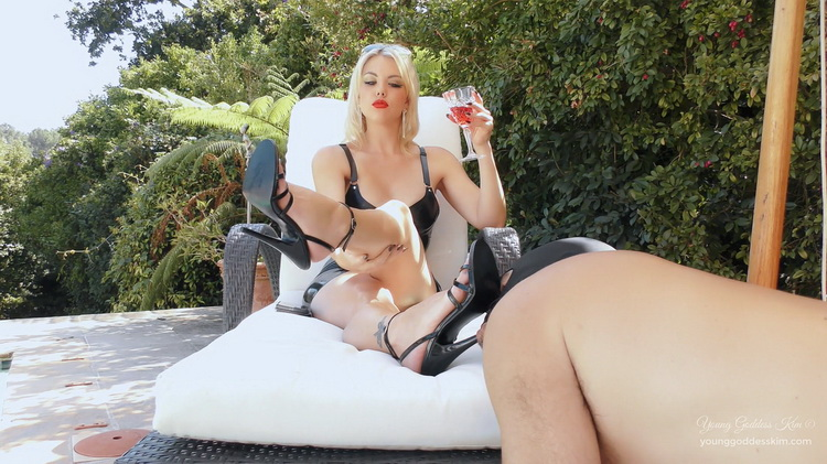 YoungGoddessKim/Clips4Sale - Young Goddess Kim - DAY IN THE LIFE AS A GARDEN ASHTRAY [FullHD 1080p]