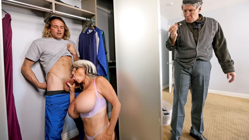 MommyGotBoobs.com/Brazzers.com: Tyler Nixon, Sally DAngelo - Sneaky Grandma [HD 720p] (512 MB) - April 26, 2021