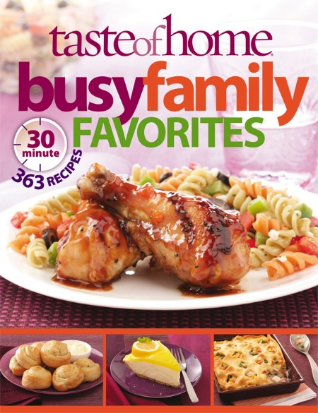 Taste of Home Busy Family Favorites by Taste Of Home