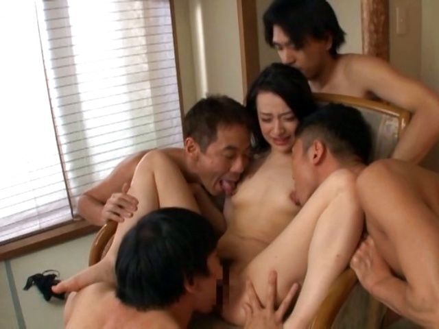 BukkakeNow.com - Nanase Mai - Cock loving Japanese babe Nanase Mai cannot stand four cocks (408p/408p) - 09 January 2021