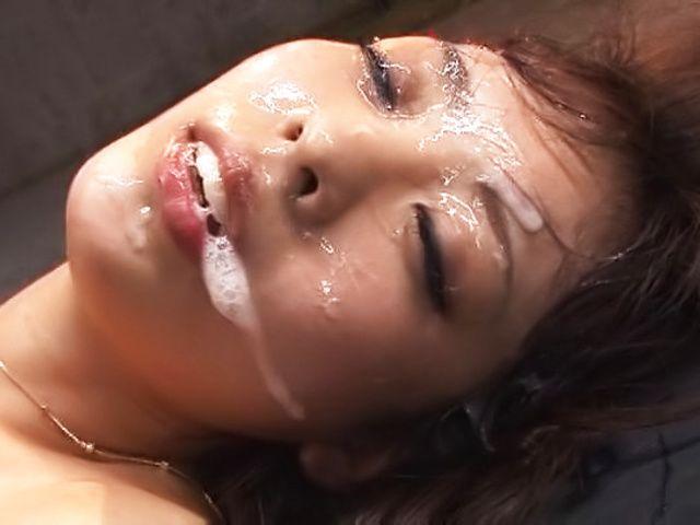 BukkakeNow.com - Fujii Arisa - Nasty Asian minx Fujii Arisa gets bukkake delights (408p/408p) - 25 February 2021
