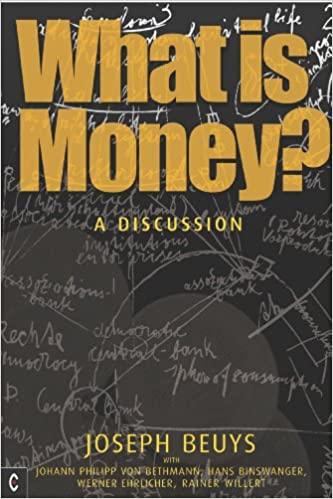 What Is Money Joseph Beuys