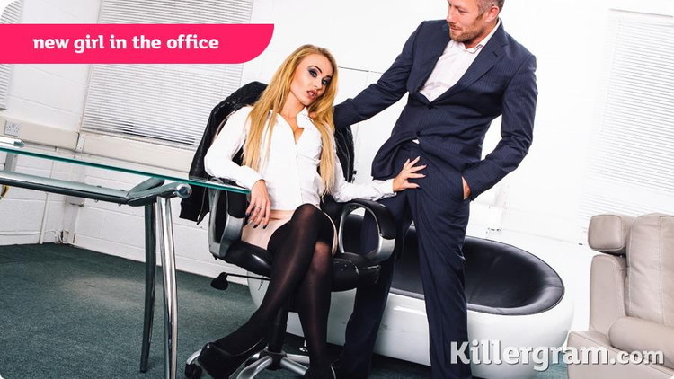 CumIntoMyOffice/KillerGram - Carmel Anderson - New Girl in The Office (720p/HD)