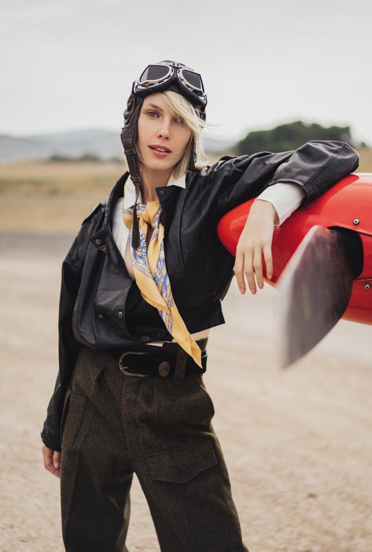 -авиация, самолет- Отважная летчица Амелия / фото 02