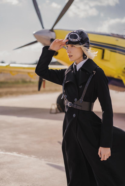 -авиация, самолет- Отважная летчица Амелия / фото 06
