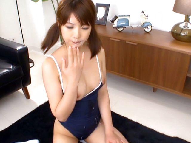 BukkakeNow.com - Japanese AV Model [Cute Japanese AV model gives blowjobs gets multiple facial cumshots] (362p 362p) - 01 April 2021