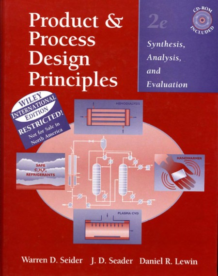 Product Process Design Principles Synthesis Analysis Evaluation