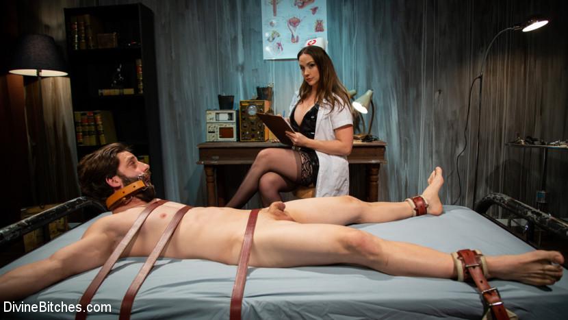 DivineBitches.com/Kink.com - Chanel Preston, Rick Fantana [Wayward Man: Nurse Chanel Prestons Unorthodox Treatment for Perverts] (SD 540p) - February 12, 2019