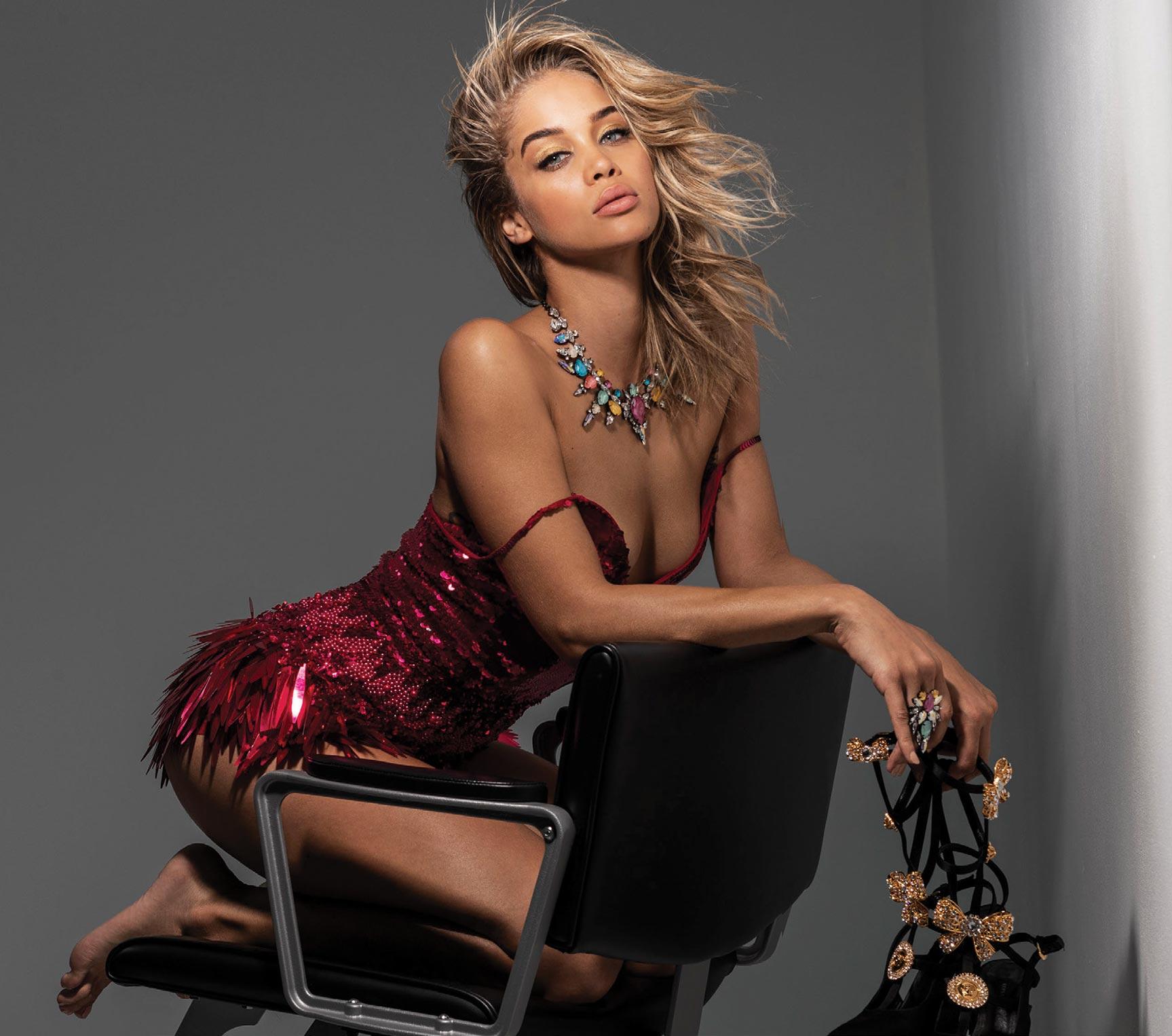 Жасмин Сандерс в журнале Maxim Мексика, апрель 2020 / фото 01