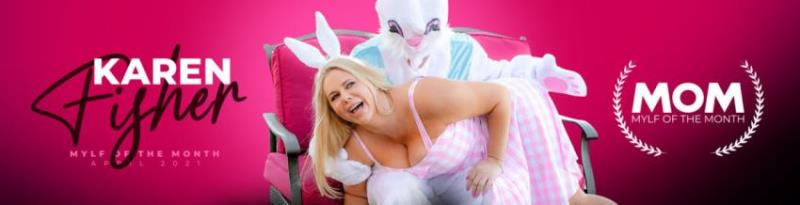 MylfOfTheMonth.com/MYLF.com: Karen Fisher - Easter Humping [SD 360p] (438.41 Mb)