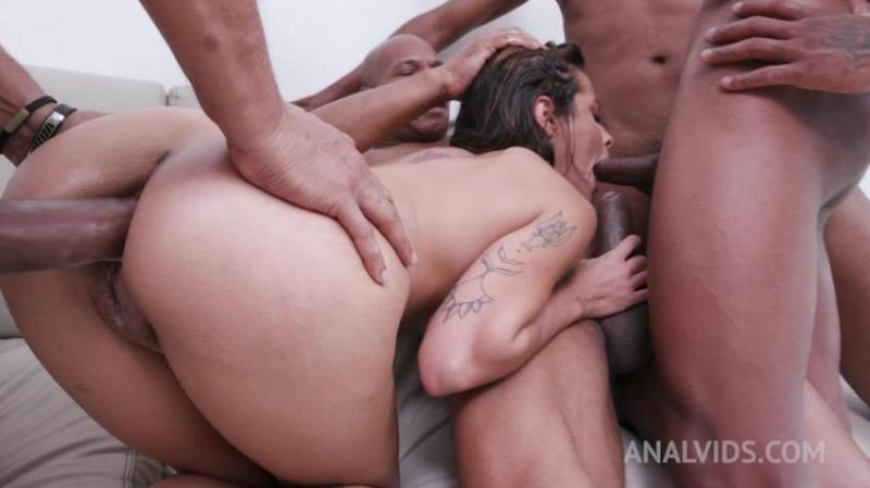 LegalPorno.com/AnalVids.com: Lady Milf - Hot interracial DAP with nasty latina Lady Milf YE082 [HD 720p] (2.05 Gb)