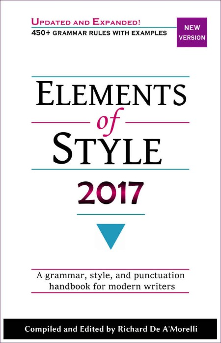 The Elements of Style by William Strunk Jr  MOBI