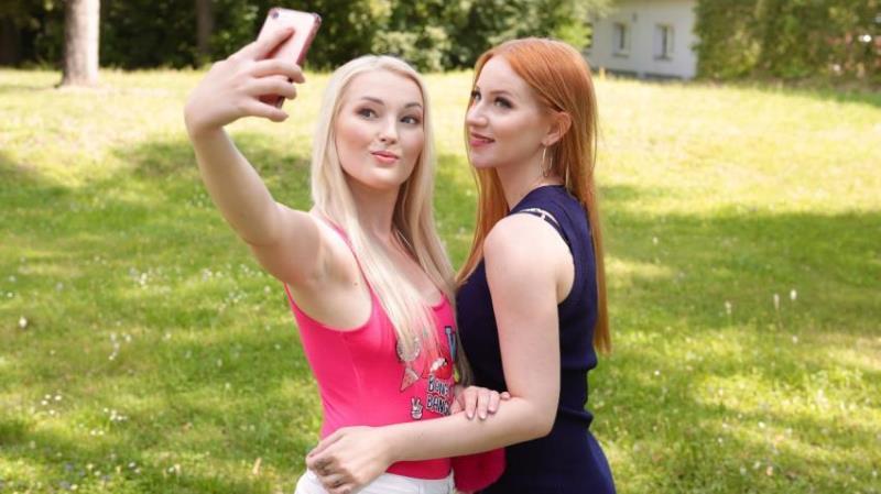 SexyHub.com/Lesbea.com - Kiara Lord, Lovita Fate [Blonde and redhead lesbians fuck] (SD 480p)