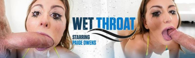 Throated.com: Paige Owens - Wet Throat [SD 544p] (383.33 Mb)