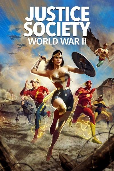 Justice Society World War II (2021) [2160p] [4K] BluRay [5 1] [YTS]