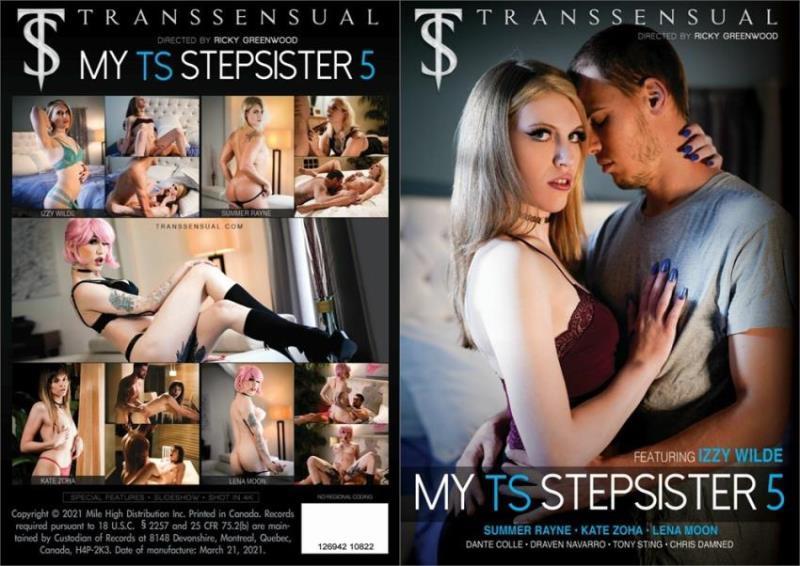 Dante Colle, Lena Kelly, Izzy Wilde, Draven Navarro, Summer Rayne, Kate Zoha, Tony Sting, Chris Damned - My TS Stepsister 5 [Transsensual] FullHD 1080p
