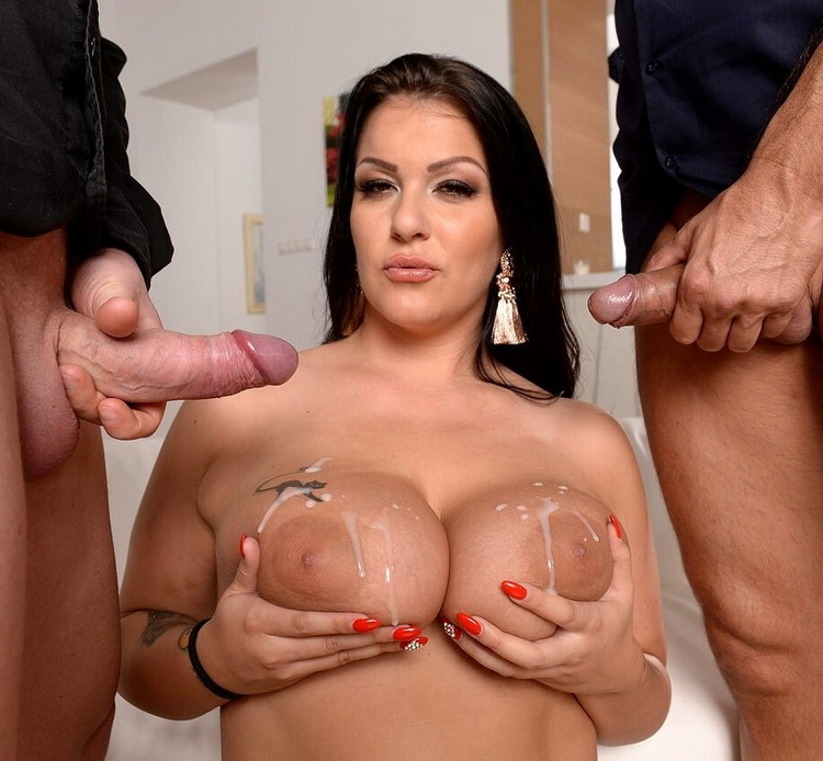 Anissa Jolie - Two In One [DPFanatics/21Sextury] FullHD 1080p