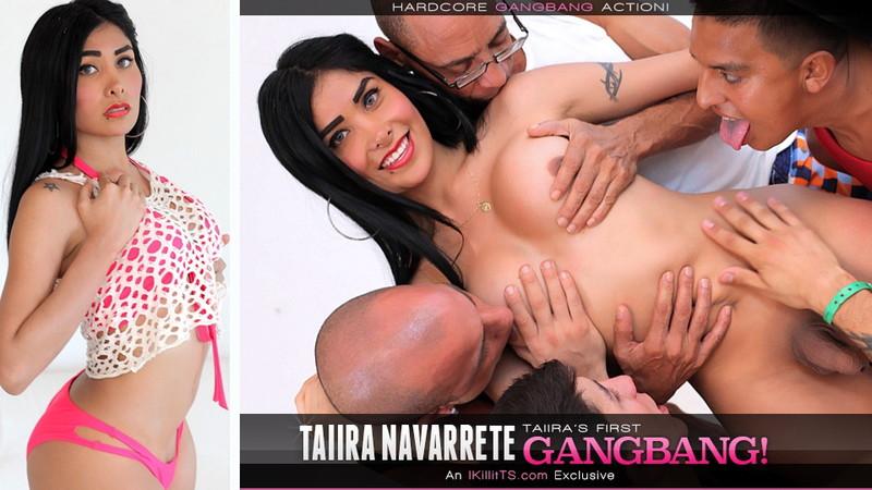 Taiira Navarrete ~ Taiira Navarretes First Gangbang ~ IKillitts/Trans500 ~ HD 720p