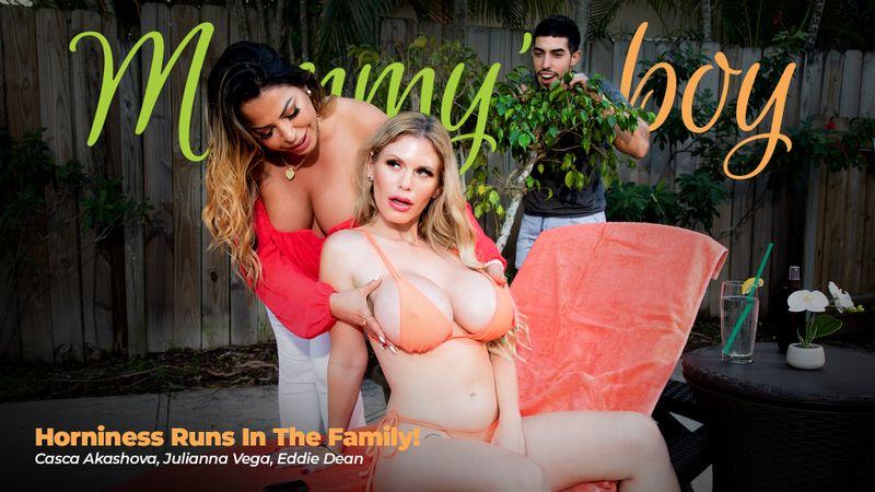 Casca Akashova, Julianna Vega ~ Horniness Runs In The Family! ~ MommysBoy.net/AdultTime.com ~ FullHD 1080p