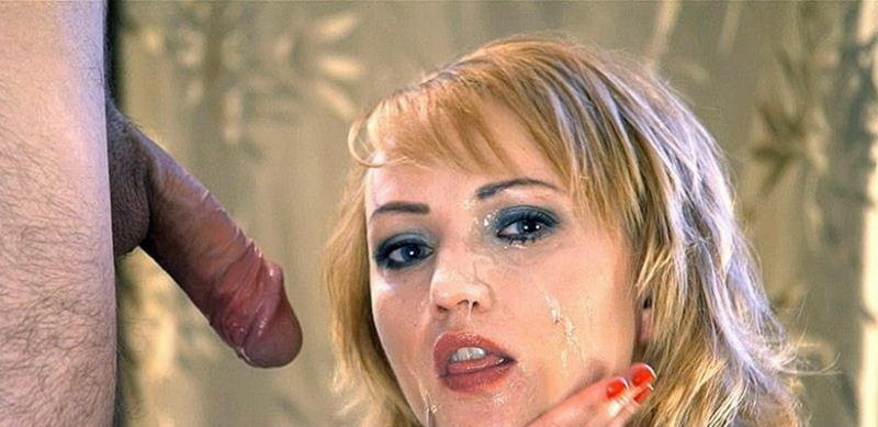LiLu - Licking the Tip of the Penis, Huge Ruined Facial (I JERK OFF 100 Strangers hommme HJ/HD) - Flashbit