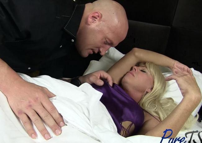 TS mature blonde Joanna Jet wants your cock! with Shemale Joanna Jet 1080p 748 MB