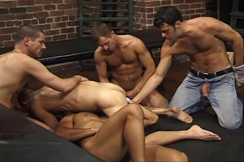ClubInfernoDungeon.com: Aaron Tanner, Bryce Pierce, Buck Philips, Jeff Allen, Max Grand, Michael Soldier, Rik Jammer, Scott Samson, Sky Donovan - Up Your Alley 2, Scene #03 [SD 480p] (294.07 Mb)