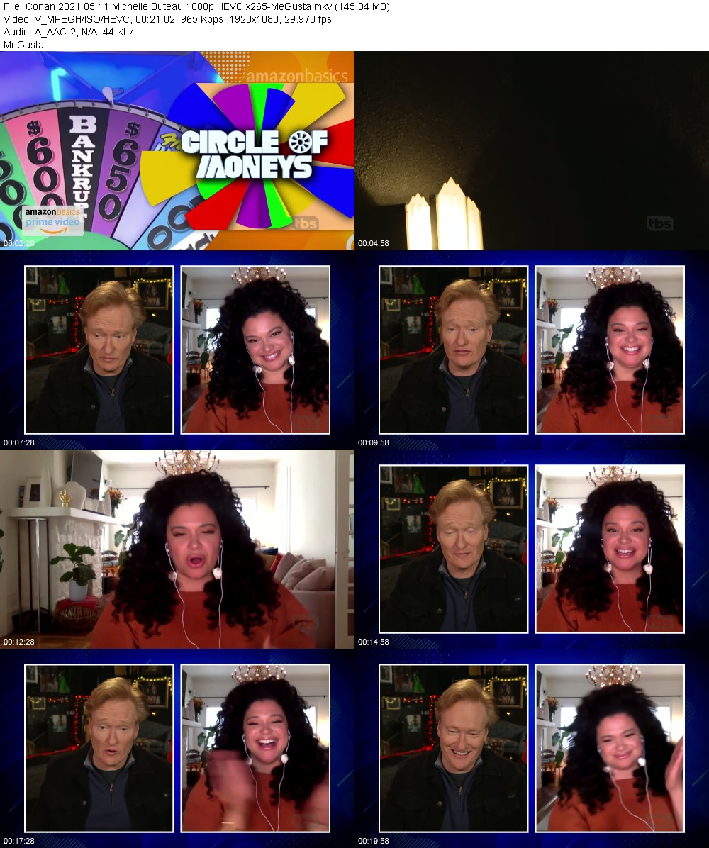 Conan 2021 05 11 Michelle Buteau 1080p HEVC x265-MeGusta