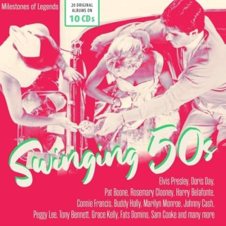VA - Swinging 50s (10 CD) (2021)