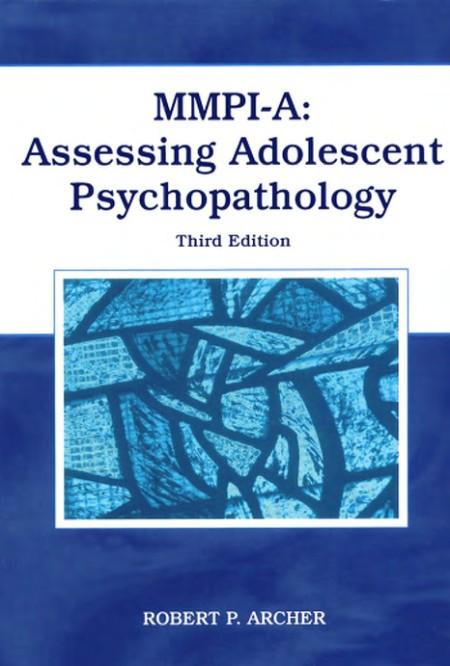 Mmpi A Assessing Adolescent Psychopathology