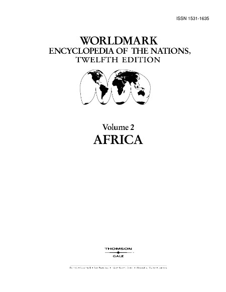 Worldmark Encyclopedia Of The Nations 12th Vol 2 Africa 2