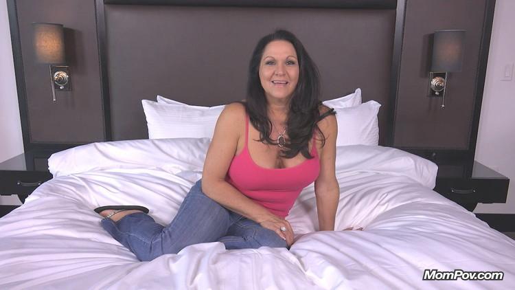 Lola ~ Curvy cougar GILF swinger does first porn ~ MomPov ~ HD 720p