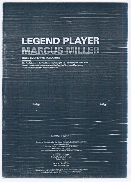 Legend Player Marcus Miller