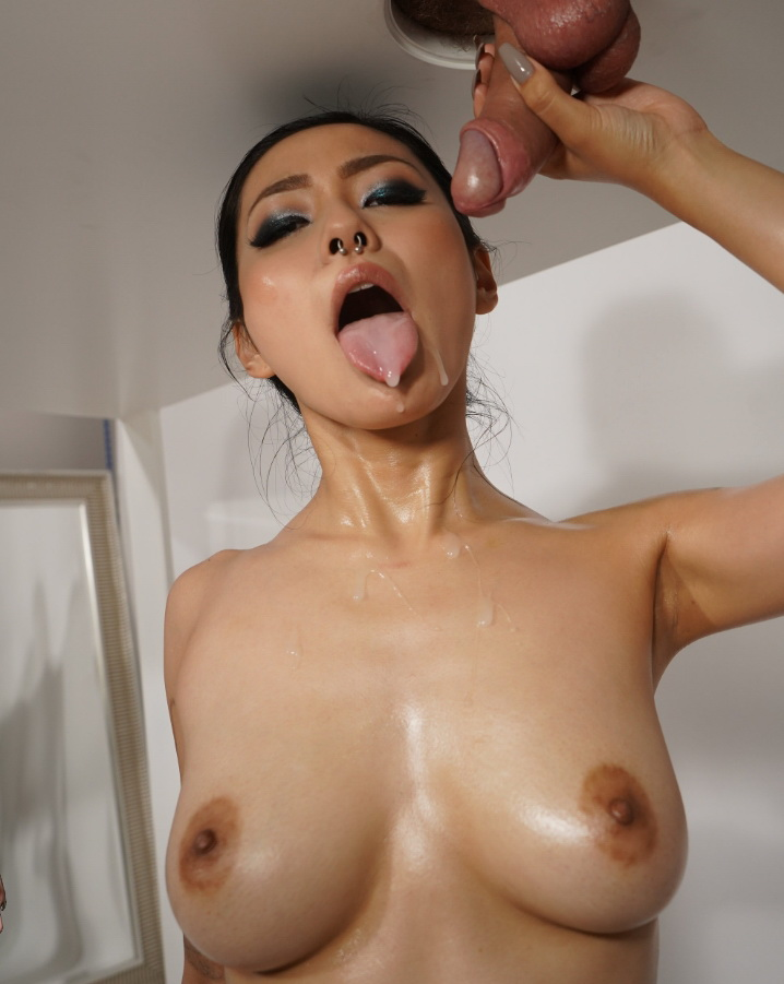 Rae Lil Black ~ Asian and big cock on milking table ~ SexyHub/MassageRooms ~ FullHD 1080p