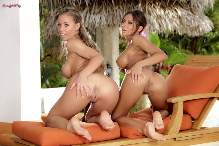 Twistys/WhenGirlsPlay - Madison Ivy, Nicole Aniston - All Wet For You (1080p/FullHD)