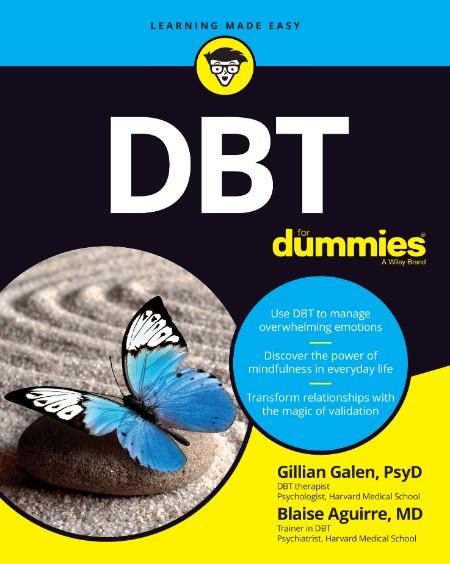 DBT For Dummies by Gillian Galen