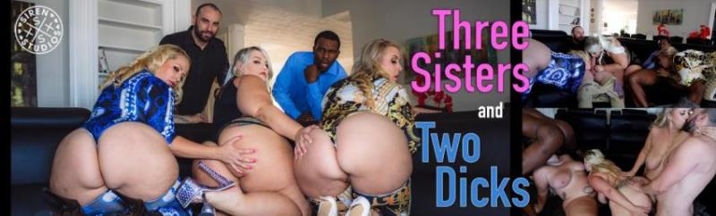 RealNaughtyNymphos.com - Lila Lovely, Mistress Delicious, Tiffany Star - Three Sisters and a Couple of Dicks (400p/SD)