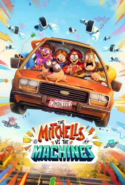 The Mitchells vs The Machines 2021 1080p NF WEB-DL DDP5 1 Atmos x264-CMRG