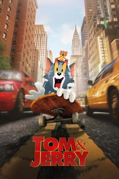 Tom and Jerry 2021 1080p BluRay x264 DTS-FGT